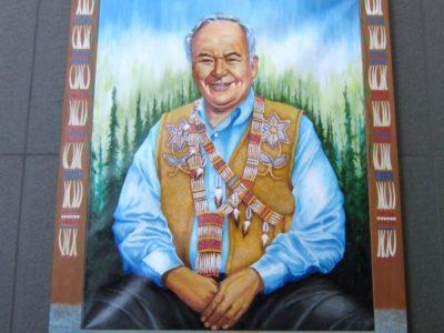 Portrait of Morris Thompson
